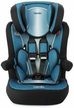 Автокресло детское Nania Imax SP FST (skyline blue) черный/красный (908090)