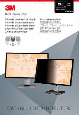 """Пленка защиты информации для ноутбука 19"""" 3M PF190W1B черный (7000013839)"""