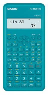 Калькулятор научный Casio FX-220PLUS-2 синий