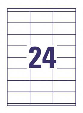 Этикетки Avery Zweckform 3422 A4 70г/м2 100л.