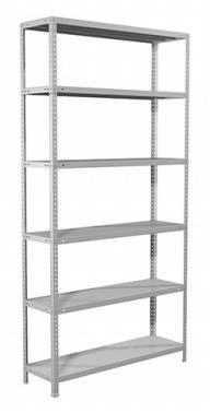 Стеллаж Практик MS пол.:6 единая 2000x1000x400мм серый (S24199164602)
