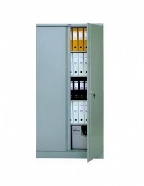 Шкаф архивный Практик AM 1891 серый/серый (S20499180102)