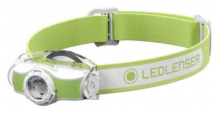 Налобный фонарь Led Lenser MH5 зеленый (501952) - фото 2