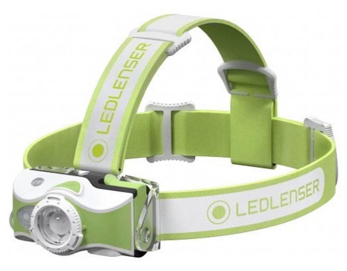 Налобный фонарь Led Lenser MH7 зеленый (500991) - фото 2