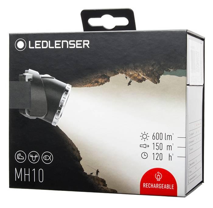 Налобный фонарь Led Lenser MH10 черный (501513) - фото 5