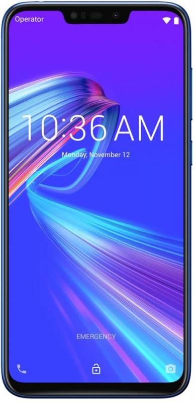 Смартфон Asus ZenFone MAX M2 ZB633KL 32ГБ синий (90AX01A1-M00060) - фото 1