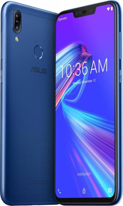 Смартфон Asus ZenFone MAX M2 ZB633KL 32ГБ синий (90AX01A1-M00060) - фото 2