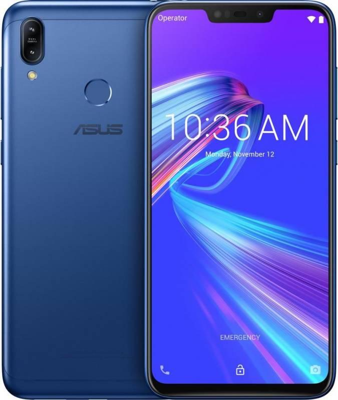 Смартфон Asus ZenFone MAX M2 ZB633KL 32ГБ синий (90AX01A1-M00060) - фото 3