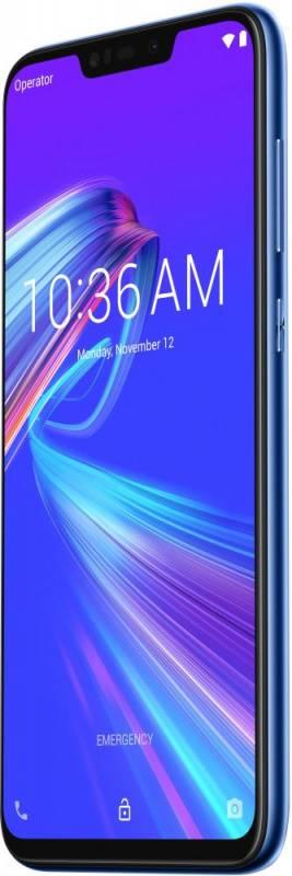 Смартфон Asus ZenFone MAX M2 ZB633KL 32ГБ синий (90AX01A1-M00060) - фото 5