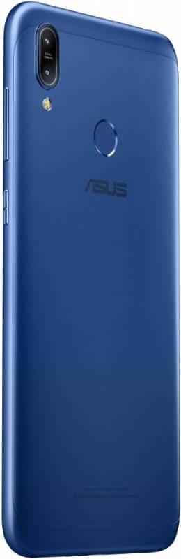 Смартфон Asus ZenFone MAX M2 ZB633KL 32ГБ синий (90AX01A1-M00060) - фото 7