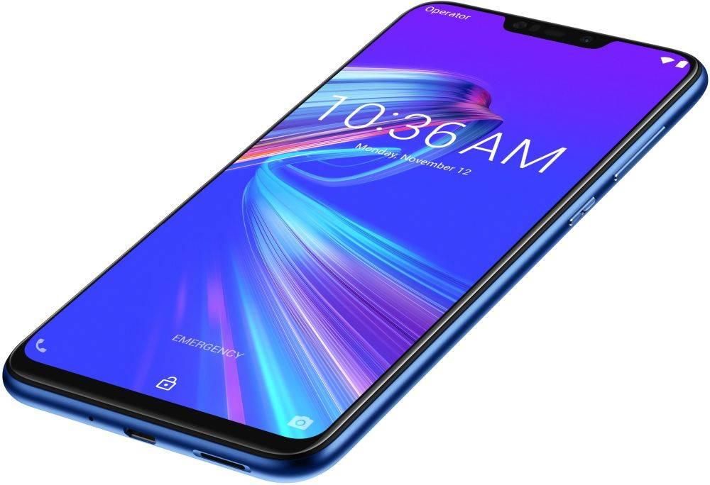 Смартфон Asus ZenFone MAX M2 ZB633KL 32ГБ синий (90AX01A1-M00060) - фото 12