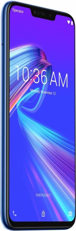 Смартфон Asus ZenFone MAX M2 ZB633KL 32ГБ синий (90AX01A1-M00060) - фото 14