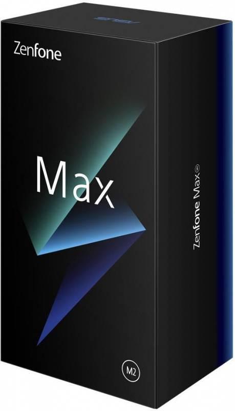 Смартфон Asus ZenFone MAX M2 ZB633KL 32ГБ синий (90AX01A1-M00060) - фото 15