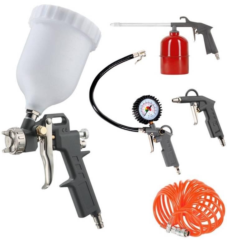 Набор пневмоинструментов Patriot KIT 5A 5 предметов (830901060) - фото 1