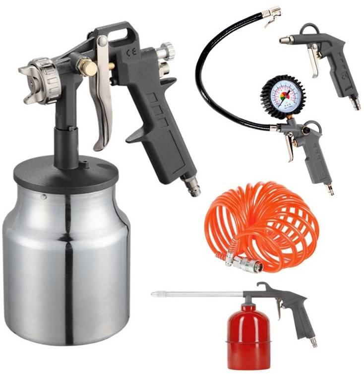 Набор пневмоинструментов Patriot KIT 5В 5 предметов (830901055) - фото 1