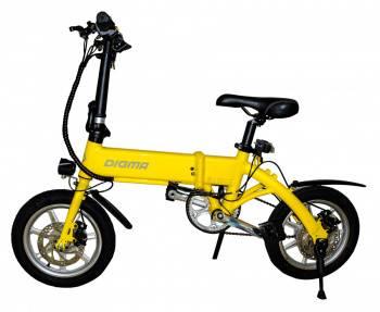 Электробайк Digma Z14-8LG 7500mAh желтый