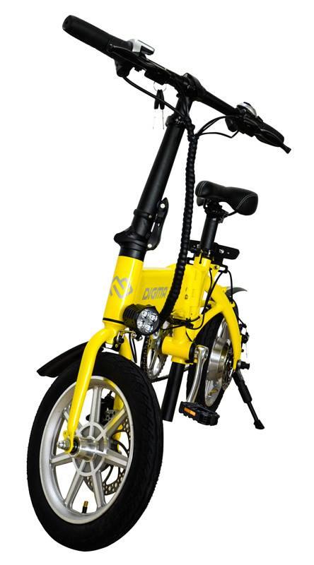 Электробайк Digma Z14-8LG 7500mAh желтый - фото 4