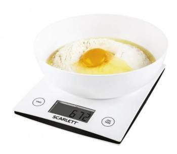 Кухонные весы Scarlett SC-KS57B10 белый (SC - KS57B10)