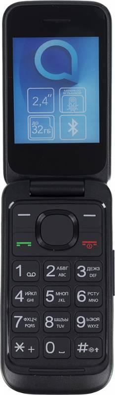 Мобильный телефон Alcatel OneTouch 2053D черный (2053D-2AALRU1) - фото 1