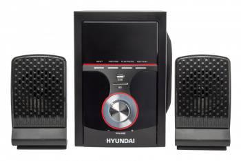 Микросистема Hyundai H-HA240 черный