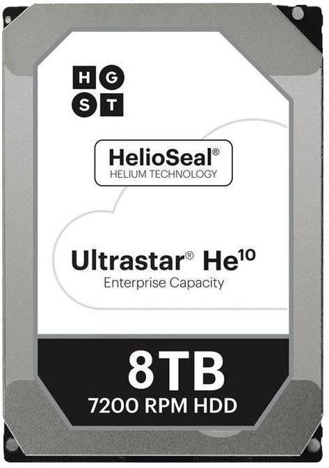 Жесткий диск 8Tb WD Ultrastar DC HC510 HUH721008AL5204 SAS 3.0 (0F27358) - фото 1