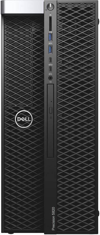 Рабочая станция Dell Precision T5820 черный (5820-2387) - фото 1