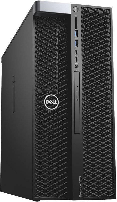 Рабочая станция Dell Precision T5820 черный (5820-2387) - фото 3