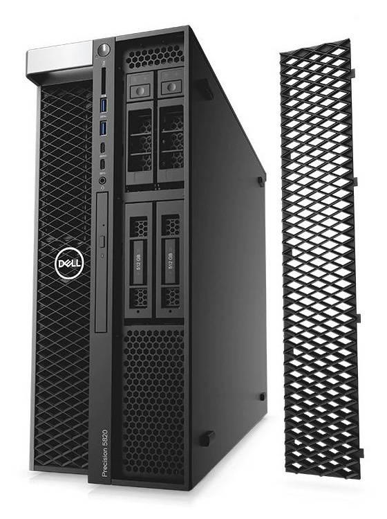 Рабочая станция Dell Precision T5820 черный (5820-2691) - фото 2