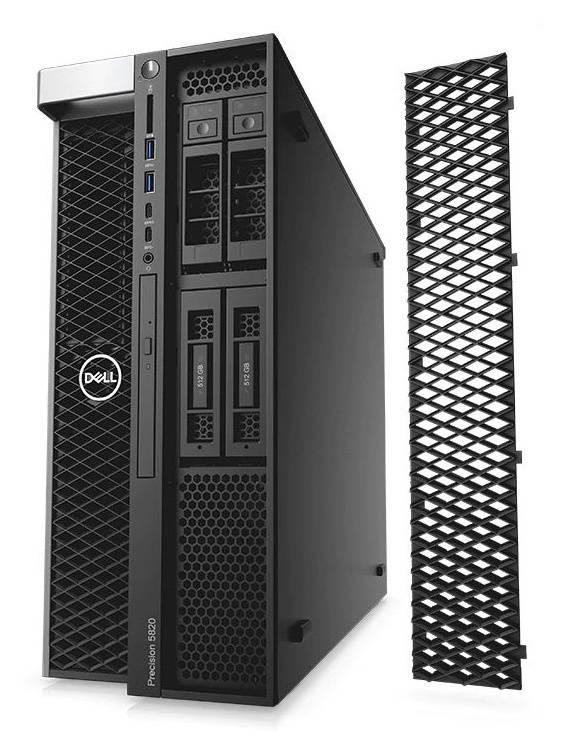 Рабочая станция Dell Precision T5820 черный (5820-2721) - фото 2