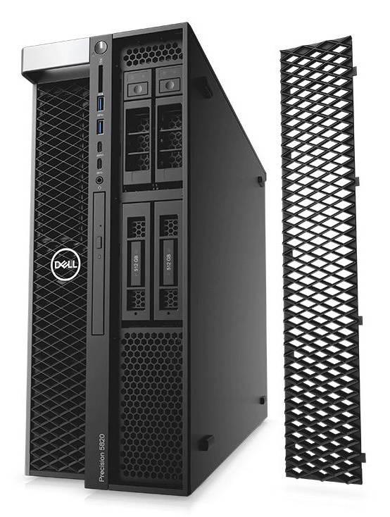 Рабочая станция Dell Precision T5820 черный (5820-2738) - фото 2