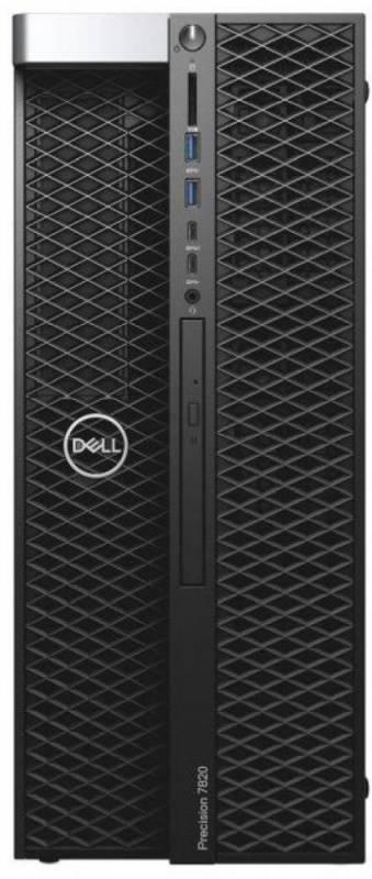 Рабочая станция Dell Precision T7820 черный (7820-2776) - фото 1