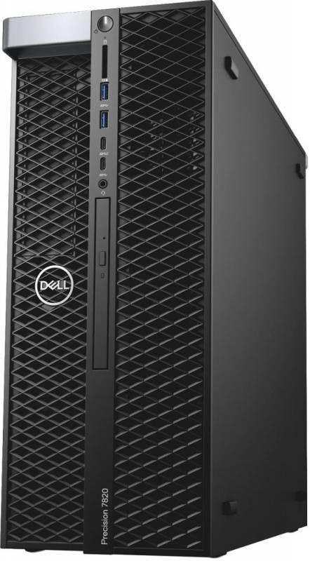 Рабочая станция Dell Precision T7820 черный (7820-2776) - фото 2