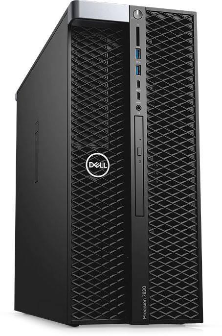 Рабочая станция Dell Precision T7820 черный (7820-2783) - фото 3