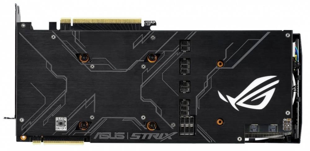 Видеокарта Asus ROG-STRIX RTX2080-A8G-GAMING 8192 МБ (ROG-STRIX-RTX2080-A8G-GAMING) - фото 3