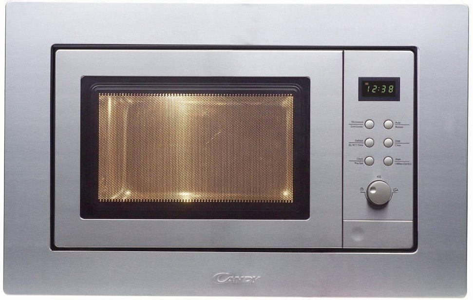 Встраиваемая микроволновая печь Candy MIC201EX нержавеющая сталь (38900021) - фото 2