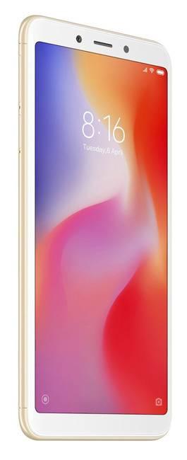 Смартфон Xiaomi Redmi 6 64ГБ золотистый (19629) - фото 2