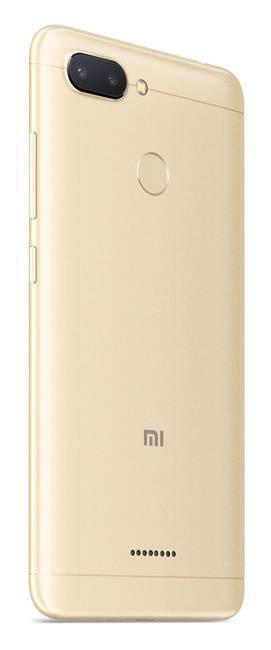 Смартфон Xiaomi Redmi 6 64ГБ золотистый (19629) - фото 4