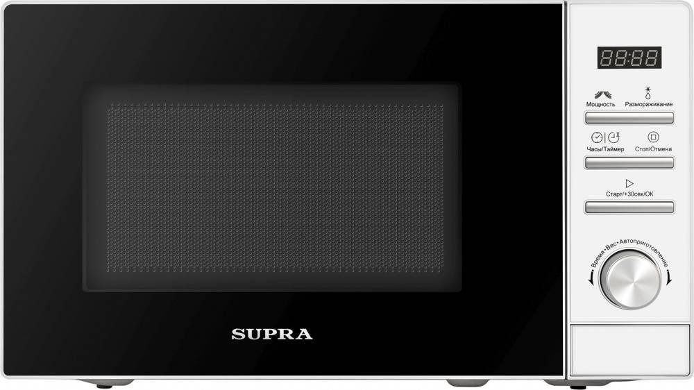 СВЧ-печь Supra 20TW17 белый (12691) - фото 1