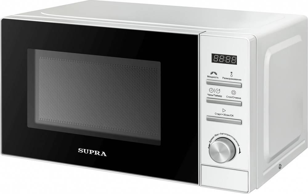 СВЧ-печь Supra 20TW17 белый (12691) - фото 2