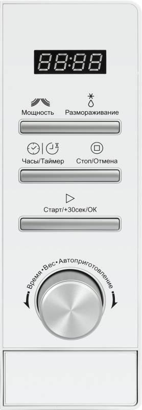 СВЧ-печь Supra 20TW17 белый (12691) - фото 3