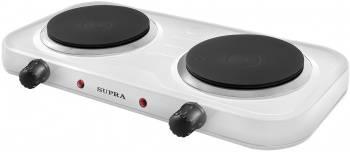 Плита электрическая Supra HS-202 белый (12680)