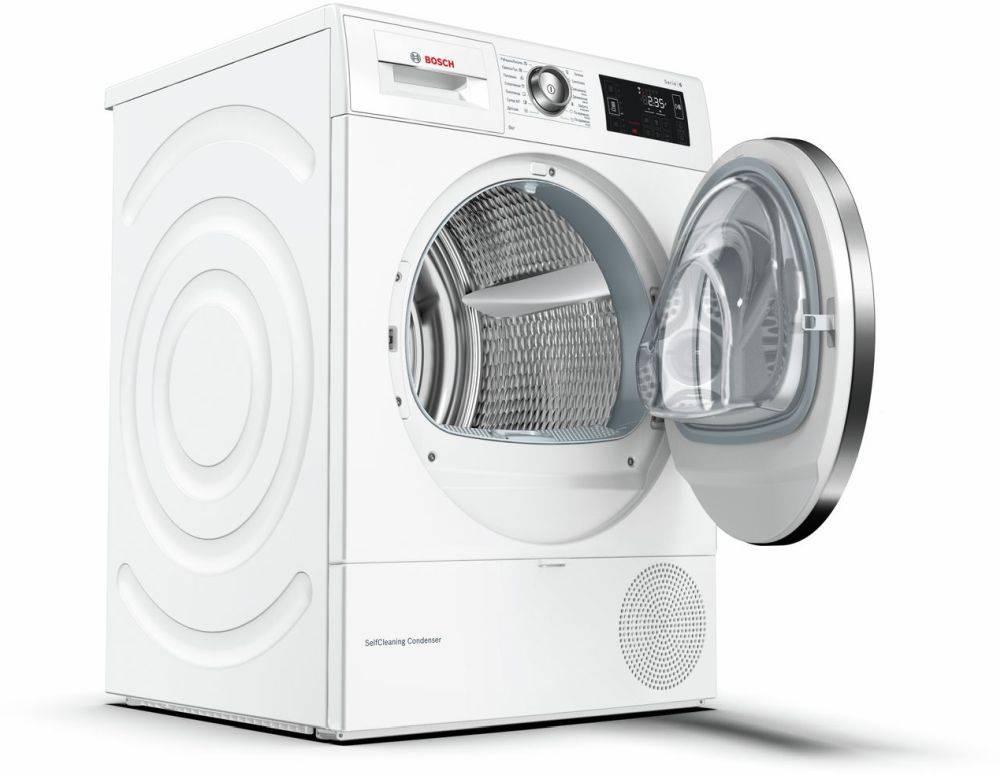Сушильная машина Bosch WTW876H0OE белый - фото 2
