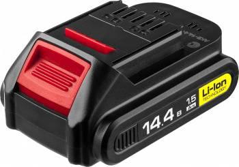 Батарея аккумуляторная Зубр АКБ-14.4-Ли 15М2 14.4В 1.5Ач Li-Ion (плохая упаковка)