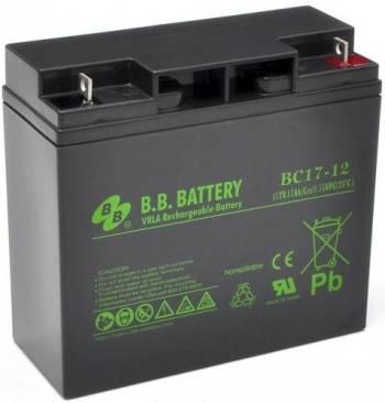 Батарея для ИБП BB BC 17-12, 12В, 17Ач
