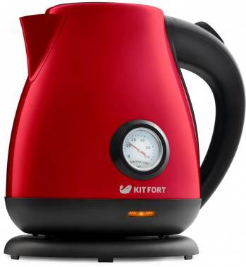 Чайник электрический Kitfort КТ-642-5 красный