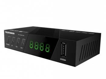 Ресивер DVB-T2 Telefunken TF-DVBT226 (TF-DVBT226(ЧЕРНЫЙ))