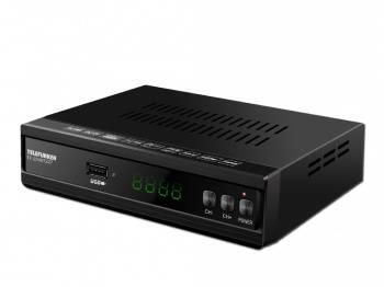 Ресивер DVB-T2 Telefunken TF-DVBT227 (TF-DVBT227(ЧЕРНЫЙ))