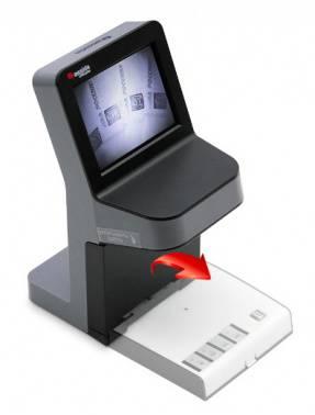 Детектор банкнот Cassida UnoPlus Laser серый