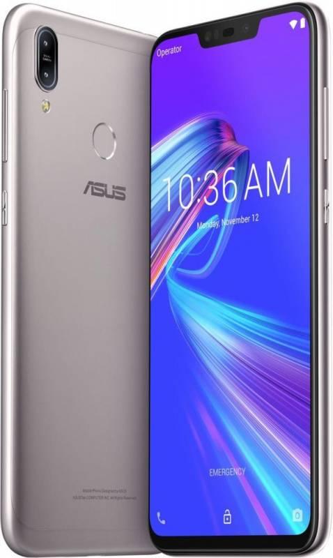 Смартфон Asus ZenFone MAX M2 ZB633KL 32ГБ серебристый (90AX01A4-M00070) - фото 2
