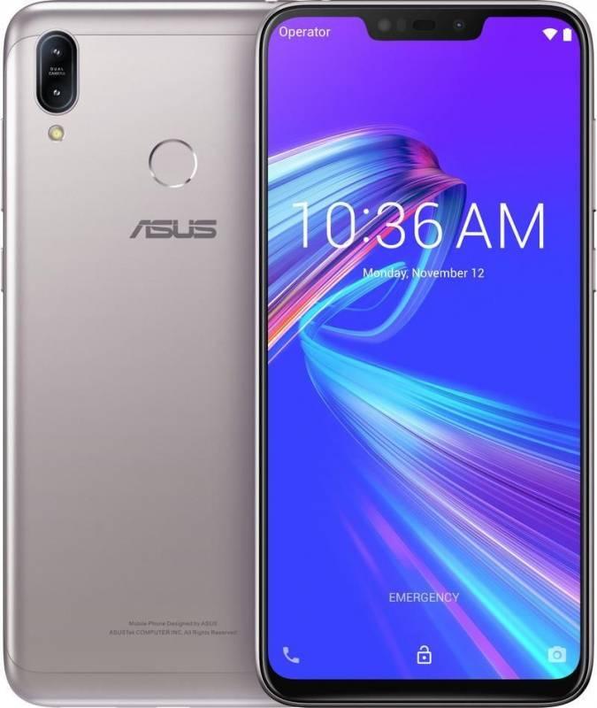 Смартфон Asus ZenFone MAX M2 ZB633KL 32ГБ серебристый (90AX01A4-M00070) - фото 3